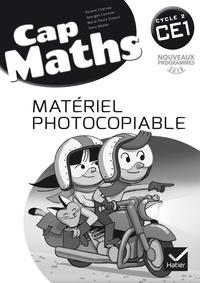 Roland Charnay et Georges Combier - Cap Maths CE1 - Matériel photocopiable.