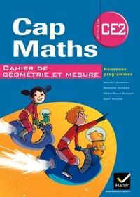 Roland Charnay et Georges Combier - Cap maths CE2, cahier de géométrie et mesure - Nouveaux programmes.