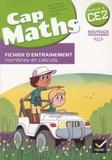 Roland Charnay et Georges Combier - Cap maths CE2 cycle 2 - Pack en 2 volumes : Fichier d'entraînement nombres et calculs ; Cahier grandeurs et mesures, espace et géométrie.