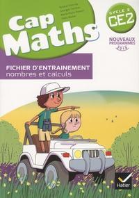 Roland Charnay et Georges Combier - Cap maths CE2 cycle 2 - Fichier d'entraînement, nombres et calculs.