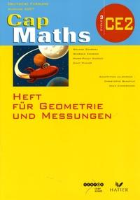Roland Charnay - Cap Maths CE2 Deutsche fassung - Heft für Geometrie und Messungen.