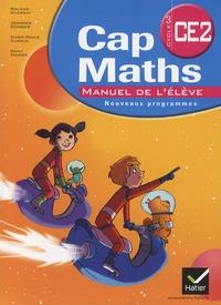Roland Charnay et Georges Combier - Cap Maths CE2 - Manuel de l'élève avec le Dico Maths.