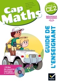 Roland Charnay et Georges Combier - Cap Maths CE2 - Guide de l'enseignant. 1 Cédérom