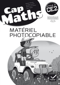 Roland Charnay et Marie-Paule Dussuc - Cap Maths CE2 - Matériel photocopiable.