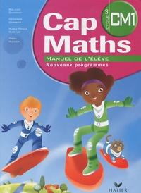 Roland Charnay et Georges Combier - Cap Maths CM1 - Manuel de l'élève + le Dico Maths CM1-CM2.