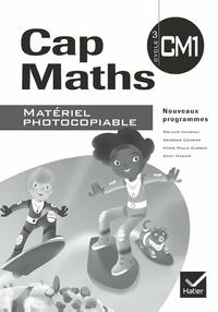 Roland Charnay et Georges Combier - Cap Maths CM1 - Matériel photocopiable.