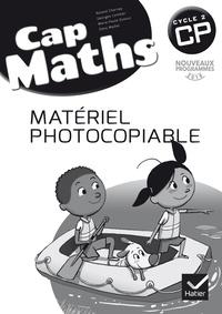 Roland Charnay et Georges Combier - Cap Maths CP - Matériel photocopiable.