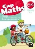 Roland Charnay et Bernard Anselmo - Cap Maths Cycle 3 CM1 - Cahier grandeurs et mesures - espace et géométrie.