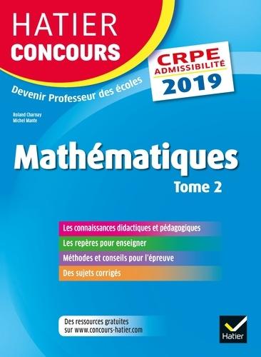 Hatier Concours CRPE 2019 - 9782401053076 - 15,99 €