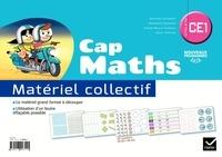 Roland Charnay et Georges Combier - Mathématiques CE1 Cycle 2 Cap Maths - Matériel collectif.
