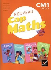 Roland Charnay et Bernard Anselmo - Mathématiques CM1 Cap Maths - Manuel + Cahier de Géométrie + Le dico-maths.