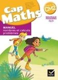 Roland Charnay et Bernard Anselmo - Mathématiques CM2 Cycle 3 Cap Maths - Pack en 2 volumes : Manuel nombres et calculs problèmes ; Cahier grandeurs et mesures, espace et géométrie.