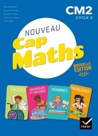Roland Charnay et Bernard Anselmo - Mathématiques CM2 Cycle 3 Cap Maths - Pack en 3 volumes : Manuel+ cahier de géométrie + le dico-maths.