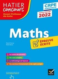 Roland Charnay et Michel Mante - Mathématiques - CRPE 2022 - Epreuve écrite d'admissibilité.