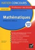 Roland Charnay et Michel Mante - Mathématiques - Epreuve orale d'admission Concours de professeur des écoles.