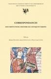 Roland Delmaire et Janine Desmulliez - Correspondances - Documents pour l'histoire de l'Antiquité tardive, actes du colloque international, Université Charles-de-Gaulle-Lille 3, 20-22 novembre 2003.