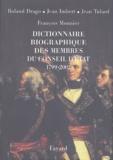 Roland Drago et Jean Humbert - Dictionnaire biographique des membres du Conseil d'Etat (1799-2002).