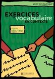 Roland Eluerd - Exercices de vocabulaire en contexte - Niveau débutant.