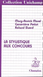 Roland Eluerd - La stylistique aux concours.