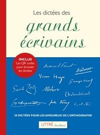 Les dictées des grands écrivains - 30 dictées pour les amoureux de lorthographe.pdf