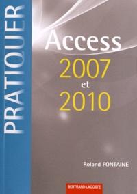 Roland Fontaine - Access 2007 et 2010.