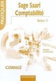 Roland Fontaine - Sage Saari Comptabilité 100 Version 11 - Corrigé.