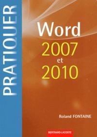 Histoiresdenlire.be Word 2007 et 2010 sous Windows Image