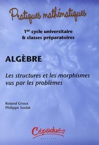 Roland Groux et Philippe Soulat - Algèbre - Les structures et les morphismes vus par les problèmes. 1 Cédérom