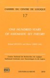 Roland Hinnion et Thierry Libert - One Hundred Years of Axiomatic Set Theory.