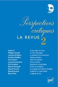 Roland Jaccard et Linda Lê - Perspectives critiques, La Revue N° 2 : .