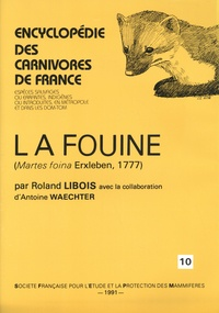 Roland Libois - La fouine - (Martes foina Erxleben, 1777).