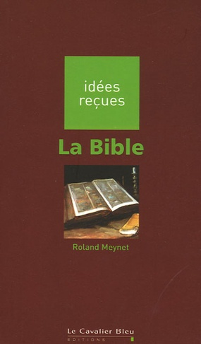 Roland Meynet - La Bible.