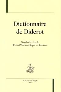Roland Mortier et Raymond Trousson - Dictionnaire de Diderot.