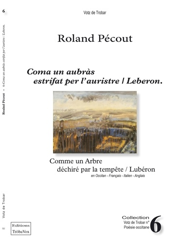 Roland Pecout - Coma un aubras estrifat per l'auristre-leberon.