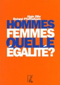 Roland Pfefferkorn et Alain Bihr - .