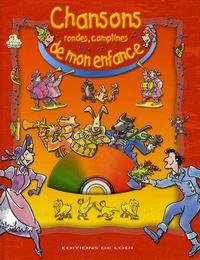 Roland Sabatier - Chansons, rondes, comptines de mon enfance. 1 CD audio