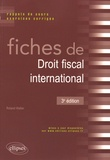 Roland Walter - Fiches de droit fiscal international.