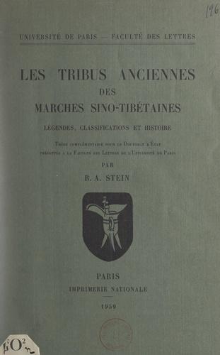 Les tribus anciennes des marches sino-tibétaines. Légendes, classifications et histoire. Thèse complémentaire pour le Doctorat d'État