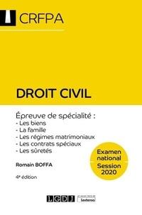 Romain Boffa - Droit civil - Les biens, la famille, les régimes matrimoniaux, les contrats spéciaux, sûretés.