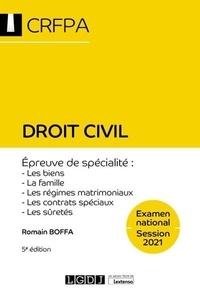 Romain Boffa - Droit civil.