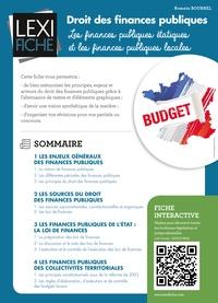 Romain Bourrel - Droit des finances publiques - Les finances publiques étatiques et les finances publiques locales.