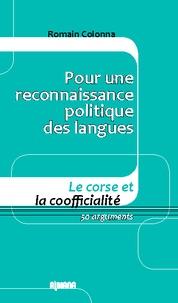 Pour une reconnaissance politique des langues - Le Corse et la coofficialité 50 arguments.pdf