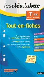 Romain Couderc et Katia Odiot - Tout-en-fiches Tle ES.
