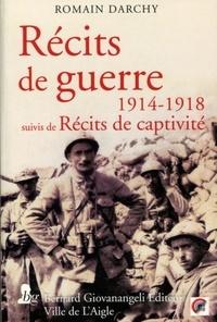 Galabria.be Récits de guerre 1914-1918 - Suivis de Récits de captivité Image