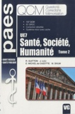 Romain Guitton et Joël Luu - Santé, société, humanité UE7 - Tome 2.