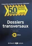 Romain Jouffroy - Dossiers transversaux.