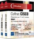 Romain Legrand et Laurent Schalkwijk - CISCO Préparation aux 1er et 2e modules, ICND1 certification CCNA 200-125 - Coffret en 2 volumes : Routage et Commutation ; Notions de base sur les réseaux.