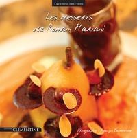 Romain Mariani - Les desserts de Romain Mariani - De l'hôtel Les Roches Rouges.