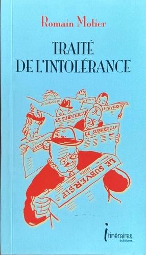 Traité de l'intolérance