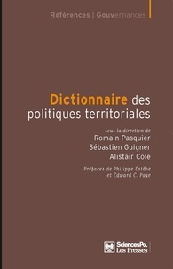 Dictionnaire des politiques territoriales - Romain Pasquier |